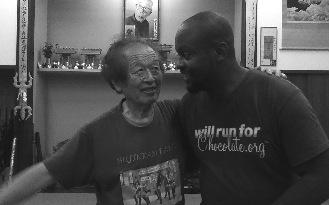 Soke Hatsumi and Melvin Williams